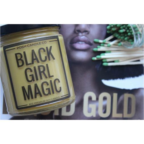 Black Girl Magic Posh Candle Co.
