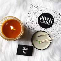 From the Ground Up: Tay Watts Sparks Life Through Posh Candle Co.