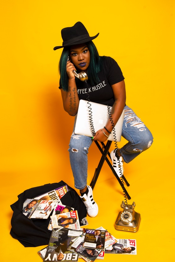 Narcisse Burchell CEO Coffee x Hustle Creative Strategy Marketing Public Relations Millennial Black Girl Magic