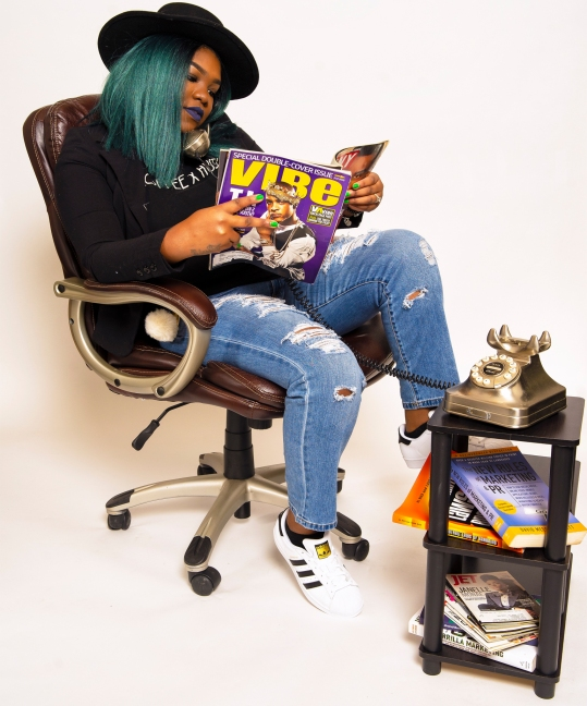Narcisse Burchell CEO Coffee x Hustle Public Relations Founder Grown Ass Black Woman GABW PR Millennial