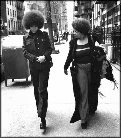 Toni and Angela Davis